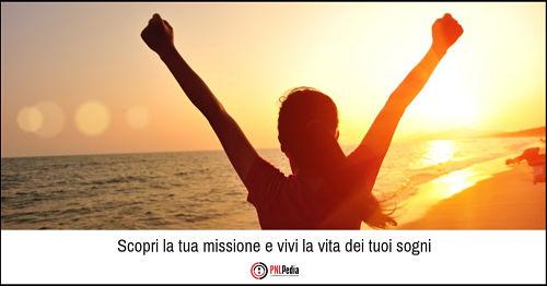 Corso PNL - Scopri la tua missione